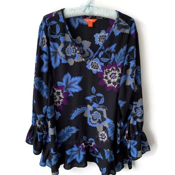 Flowery Shirt from Joe Fresh - 2X